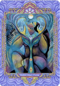 14 Seated Angel Flying