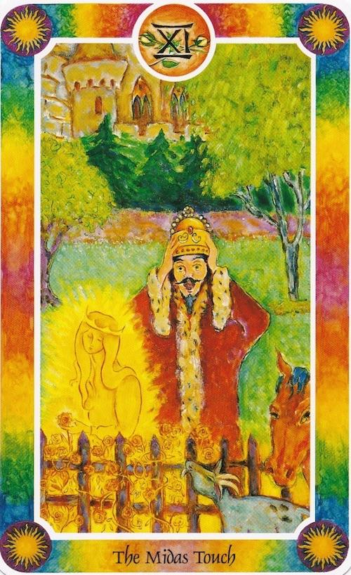 11 ミダス王と金の手