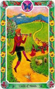 ワンドガイド ハメルンの笛吹きGuide of Wands The Pied Piper