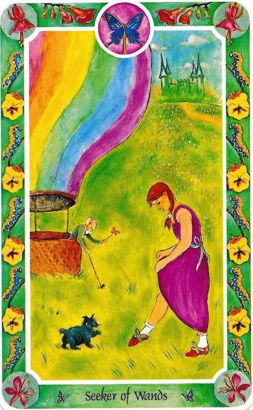 ワンドシーカー ドロシー Seeker of Wands Dorothy in The Wizard of Oz